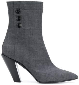 A.F.Vandevorst pointed heel boots