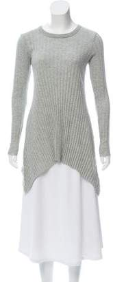 Enza Costa Cashmere-Blend Long Sleeve Top