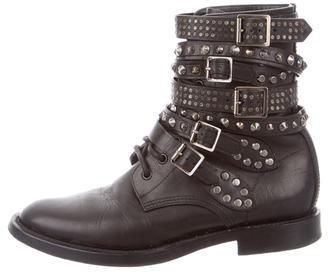 Saint LaurentSaint Laurent Stud-Embellished Ankle Boots