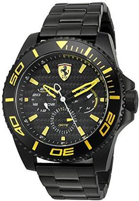Ferrari (フェラーリ) - ブラッ゠̄ メãƒ3ã'1 アナログ ファッショãƒ3 ã' ̄ã'©ãƒ1⁄4ツ Ferrari æTM'è ̈ˆ XX Kers ???? 0830309