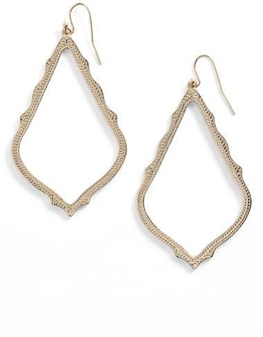 Women's Kendra Scott 'Sophee' Textured Drop Earrings
