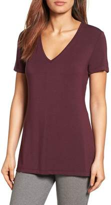 Halogen V-Neck Tunic Tee