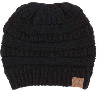 Cambridge Silversmiths Select Winter White Ivory Thick Slouchy Knit  Oversized Beanie Cap Hat 98b1cbd73706
