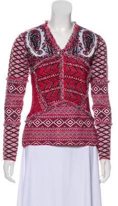 Altuzarra Aztec Fringe Sweater multicolor Aztec Fringe Sweater