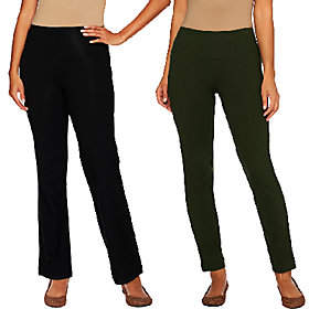 Women with Control Regular Tummy Control BootCut/Ankle Pants