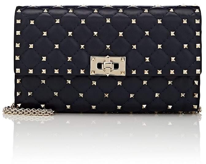 Valentino Garavani Women's Rockstud Spike Leather Shoulder Bag