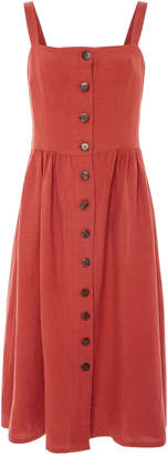 ALBUS LUMEN Exclusive Postinon Button Front Dress