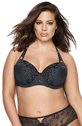 Ashley Graham Showstopper Underwire Balconette Bra