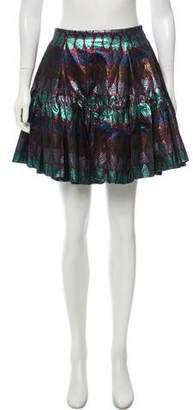 Kenzo Woven Mini Skirt