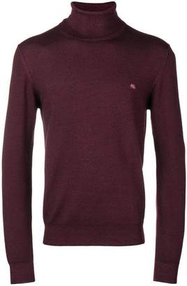 Etro turtleneck fitted jumper