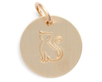 Women's Nashelle Cat Stamp Charm $35 thestylecure.com