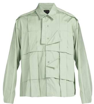 Craig Green - Pleated Cotton Shirt - Mens - Green