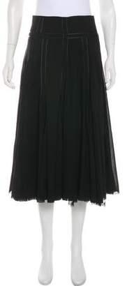 Kaufman Franco KAUFMANFRANCO Midi Wool Skirt