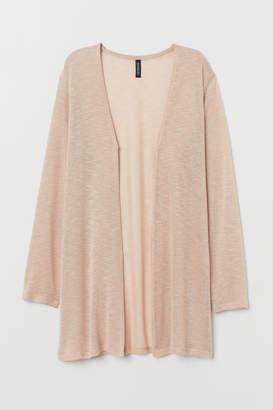 H&M Loose-knit Cardigan - Beige