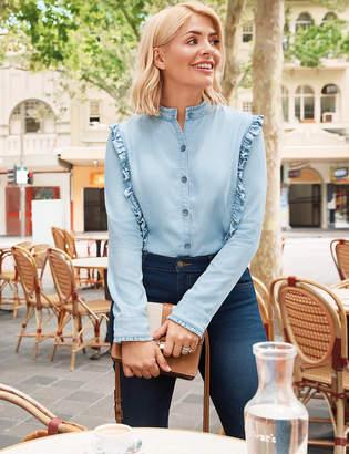 341fef18eff1e Plus Size Denim Tops - ShopStyle Australia