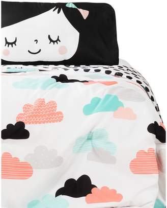 South Shore Kid's DreamIt 3-Piece Night Garden Comforter Set