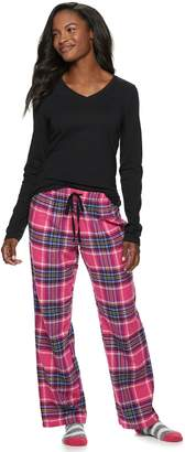 Sonoma Goods For Life Women's SONOMA Goods for Life 3-Piece Tee, Pants & Sock Pajama Set