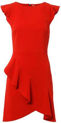 Alice + Olivia (アリス オリビア) - Alice+olivia Verona Ruffle Fitted Dress