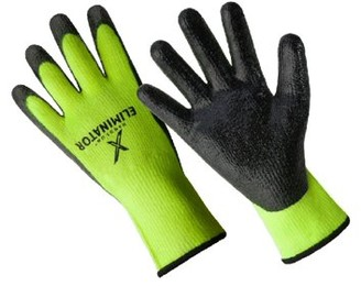 Hands On CD9450-L, The Eliminator Premium Lined Smooth Finish Nitrile Coated Glove