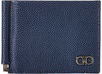 Salvatore Ferragamo - Ten-Forty One Bifold with Clip - 669788 Bi-fold Wallet $340 thestylecure.com