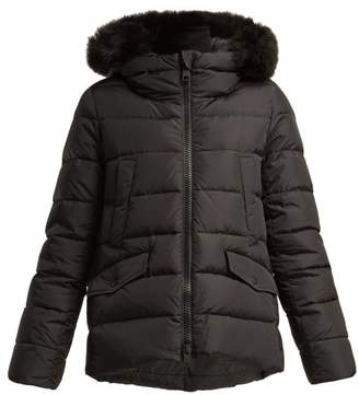 Herno Chamonix Quilted Down Jacket - Womens - Black