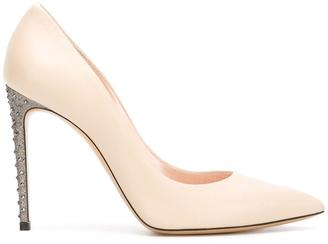 Casadei studded stiletto heel pumps $666.28 thestylecure.com