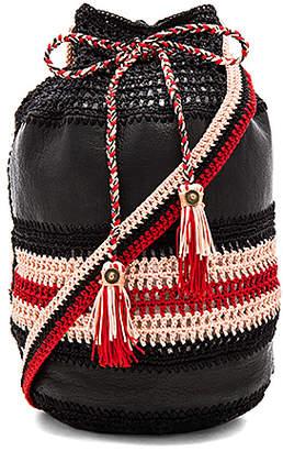 Cleobella Almadine Bucket Bag in Black. $199 thestylecure.com