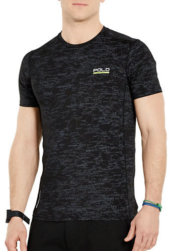 Polo Sport Printed All-Sport Compression Tee