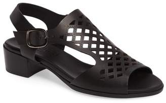 Munro American Martie Lasercut Sandal - Multiple Widths Available