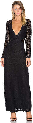 House of Harlow 1960 x REVOLVE Anna Maxi in Black $210 thestylecure.com