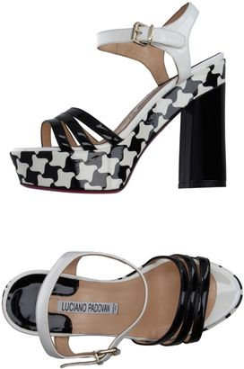 LUCIANO PADOVAN Sandals $377 thestylecure.com