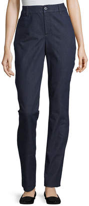 ST. JOHN'S BAY Secretly Slender Straight Pants - Tall Inseam 34