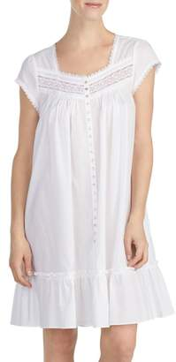 Eileen West Cotton Lawn Short Nightgown