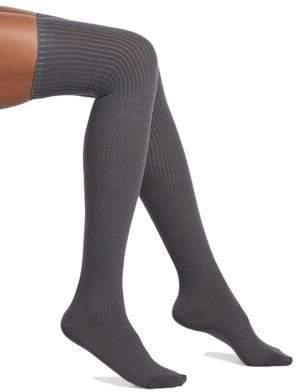Hue Women's Ribbed Over-The-Knee Socks