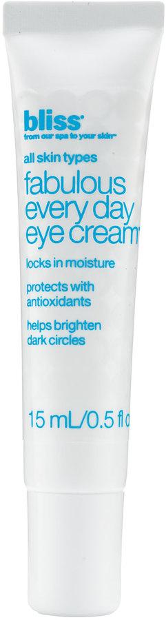 Bliss Fabulous Everyday Eye Cream