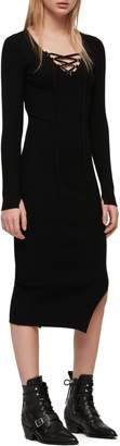 AllSaints Tamsin Long Sleeve Sweater Dress