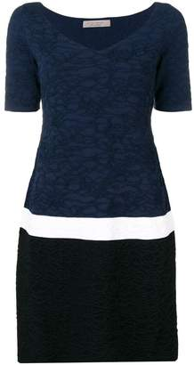 D-Exterior D.Exterior colour block dress