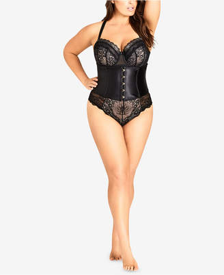 City Chic Trendy Plus Size Venus Waspie