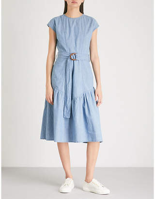 MiH Jeans Aubrey chambray dress