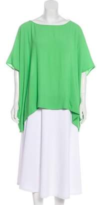 Diane von Furstenberg New Hanky Short Sleeve Top