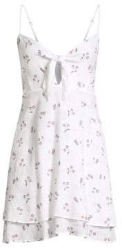 Rails August Cut Out Cherry-Print A-Line Dress
