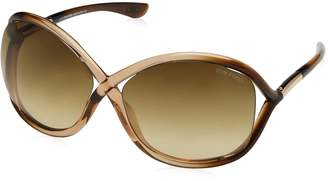 Tom Ford Women's Gradient Whitney FT0009-74F-64 Butterfly Sunglasses