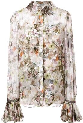 ADAM by Adam Lippes floral print shirt