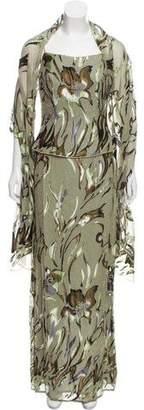 Jovani Embellished Silk Dress w/ Tags