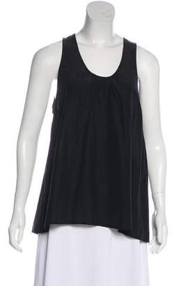 Band Of Outsiders Embossed Sleeveless Top