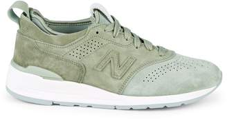 New Balance Perforated Suede Sneakers