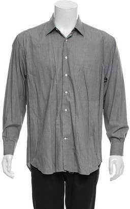 Salvatore Ferragamo Printed Dress Shirt