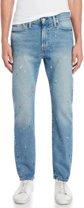 Levi's 510 Skinny Fit Paint-Splattered Jeans