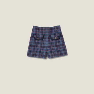 Sandro Tweed Shorts