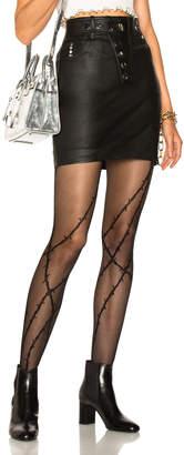 Alexander Wang High Waisted Mini Skirt